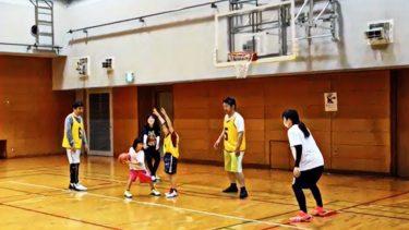 ソーシャルバスケ × ミニバス!@扇町プール体育室